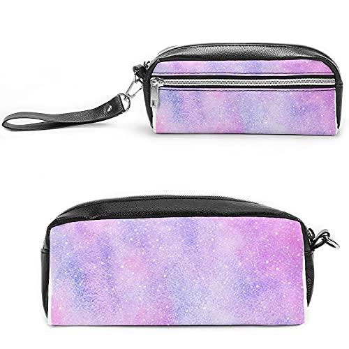 Bolsa de cosméticos de viaje con diseño de unicornio rosa con muchos bolsillos, Negro-estilo-19, 20*10*5.5cm,