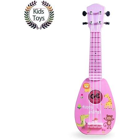 Molain Ukelele Musical Ukulele Cute Toy Kids Small Guitar
