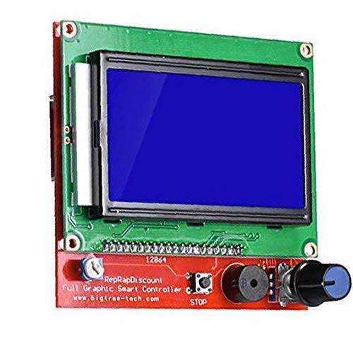 Printer LCD 3D Pannello di controllo LCD RAMPS1.4 12864 LCD Pannello di controllo Verde tabellone controller