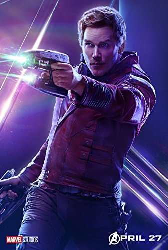 The Avengers : Infinity War – Star Lord - U.S Movie Wall Poster Print - 30cm x 43cm / 12 inches x 17 inches