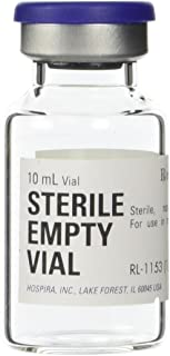 Sterile Empty Vial 10ml Hospira