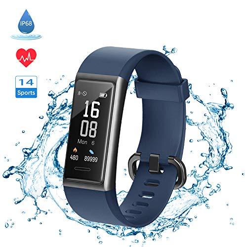 LIFEBEE Fitness Tracker Smartwatch Orologio Fitness Watch Uomo Donna Bambini, Activity Tracker Sportivo Impermeabile IP68 Cardiofrequenzimetro da Polso Sonno Contapassi Calorie per Android iOS