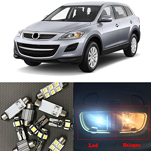 NSLUMO – Kit de luces LED interiores para Mazda CX-9 CX-7 CX-5 CX5 CX7 CX9, 2007-2012 Mazda CX-9