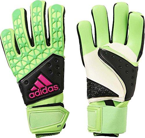 adidas Herren Torwarthandschuhe Ace Zones Pro, Solar Green/Core Black/Shock Pink S16, 11