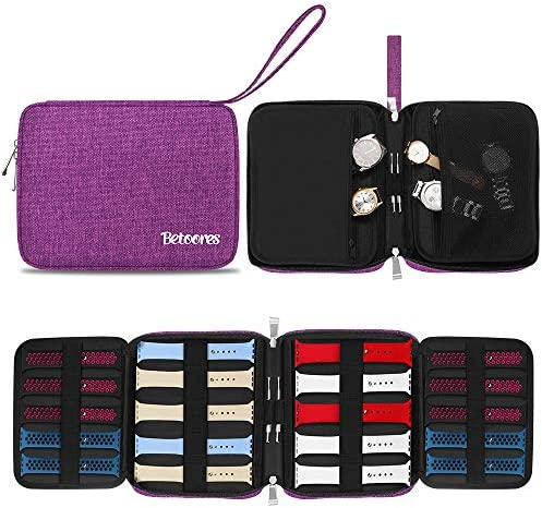 Betoores Watch Band Case Travel Organizer Bag Watch Band Storage Case Hold 20 Smart Watch Straps product image