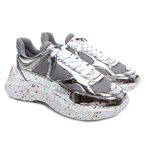 Love MOSCHINO Sneaker Argento JA15476G08JE190A