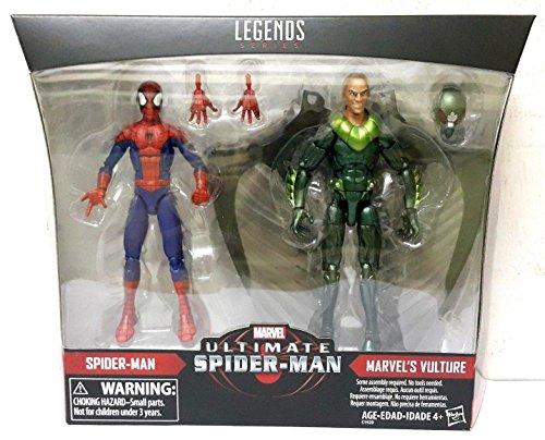 Marvel Legends Ultimate Spider-Man & Marvels Vulture Exclusive 2-Pack Action Figures