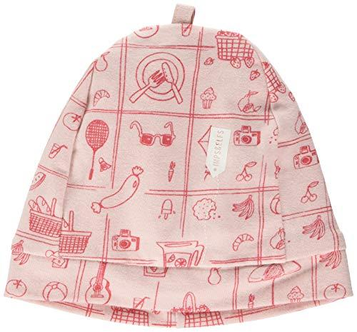 Imps & Elfs G Hat Ashton AOP Bonnet, Rose (Lotus P471), Unique (Taille Fabricant: 3M-6M) Bébé Fille