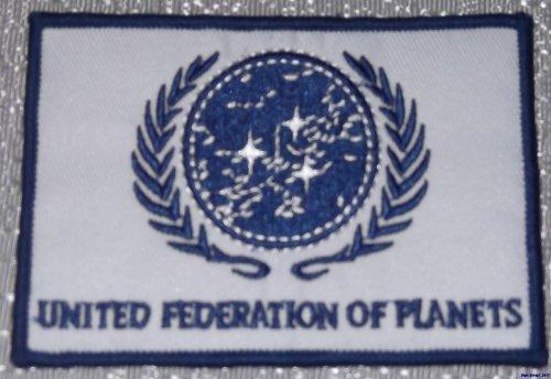 Star Trek The Next Generation United Federation of Planeten, bestickter Aufnäher