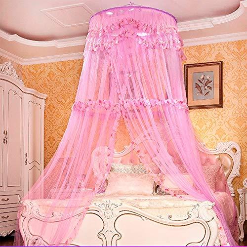 Pingrog Dome Geschorste Plafond Netten Muggen Casual Chic Net Princess Schaal Anti Muggen Licht Luifel E Koning Oosterse mediterrane Stijl Zoete Decoratie