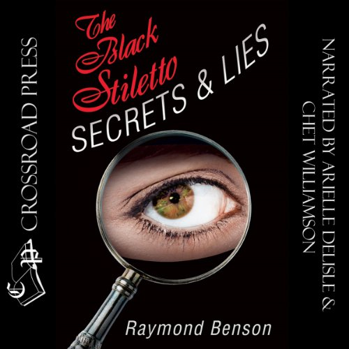 The Black Stiletto audiobook cover art