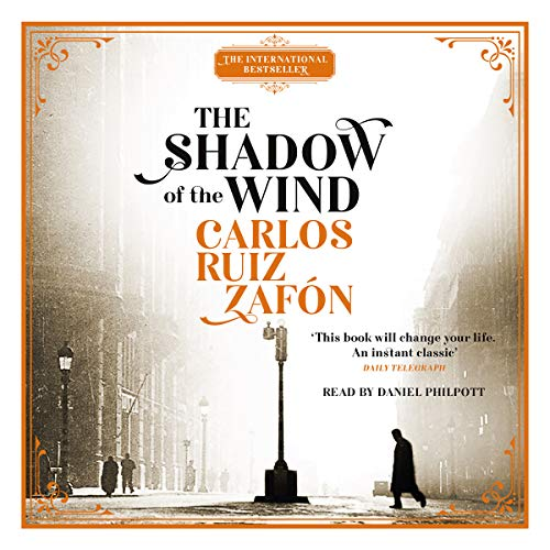 The Shadow of the Wind audiobook cover art