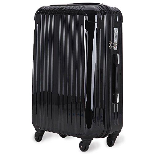 超軽量 2年保証 スーツケース TSAロック搭載 旅行バック トランクケース 旅行カバン (中型Mサイズ(4-7泊)...