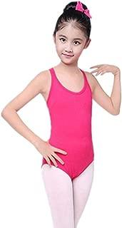 Children Girl Ballet Dancewear Strap Performance Costume O-Neck Jumpsuit