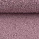 Swafing Gekochte Wolle Walk Naomi 100% Wolle, rosa 50 x 145