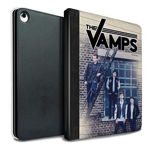 The Vamps PU Pelle Custodia/Cover/Caso Libro per iPad PRO 10.5 (2017) Tablet/Diario Servizio Fotografico Disegno