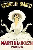 Unbekannt Martini & Rossi berühmten Vintage Art
