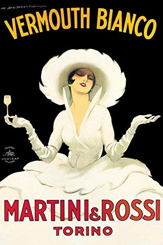 Martini & Rossi Poster by Marcello Dudovich 24 x 36in