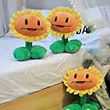 BTSEURY Sunflower Plush Toys,30cm Plush Flower Stuffed Toys Kids Toys Doll Toy Children Birthday Gift,Home Bedroom Shop Restaurant Decor