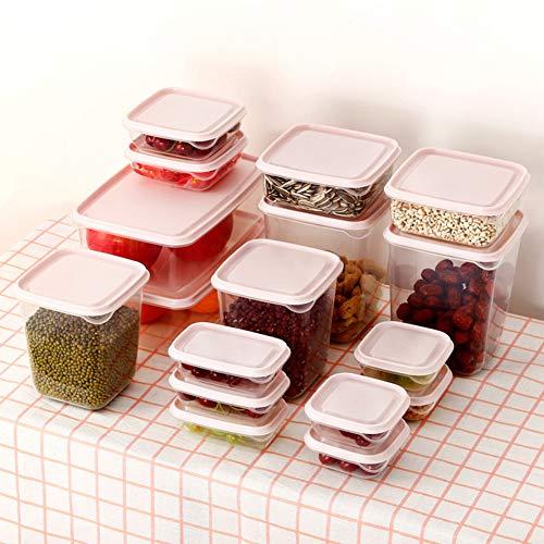 Yiwa Opbergdozen voor levensmiddelen, verzegeld, groentelade voor de koelkast van de keuken