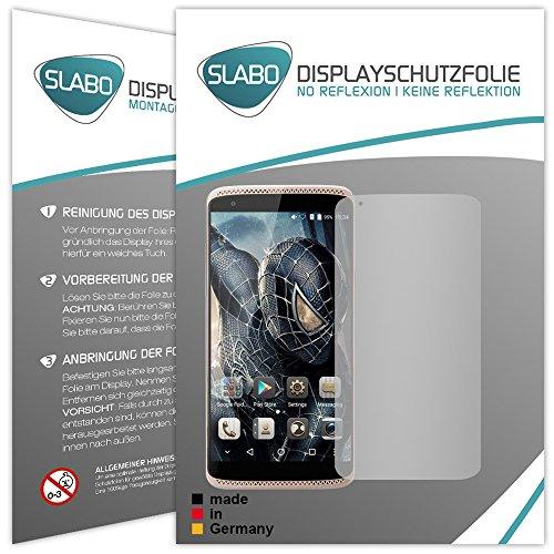 Slabo 2 x Bildschirmfolie für ZTE Axon Mini Bildschirmschutzfolie Zubehör No Reflexion MATT
