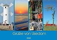 Gruesse von Usedom (Wandkalender 2022 DIN A3 quer): Sehenswerte Motive von der Insel Usedom (Monatskalender, 14 Seiten )
