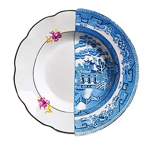 """Suppenteller aus Porzellan Ø 25,4 cm H 4,2 """"Hybrid-Fillide"""""""