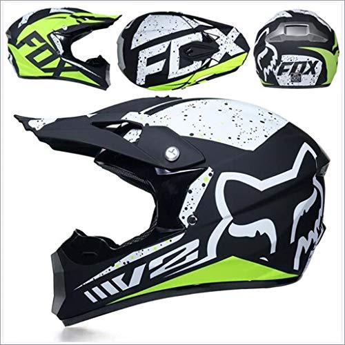 Motocross Off Road Casco Gafas de regalo Máscaras Guantes FOX Motocic