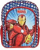 Avengers 3D Rucksack Kinderrucksack für Jungen und Mädchen KITA Schule Kindergarten Grundschule Sport Training Kindergeburtstag mit Fach für Trinkflasche, Brotdose