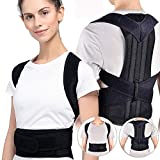 Bunny Ears Posture Corrector Back and Shoulder Support Clavicle Support Back Straightener Brace Trainer for Lower and Upper Back Pain Relief Improves Postures