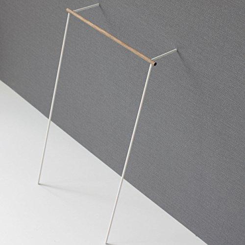 Roomsafari Leanon II Garderobe Nussbaum/Gestell weiß