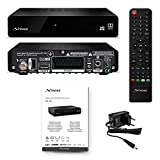 STRONG SRT 7006 Décodeur Satellite, HD Sat Free to Air (Récepteur TV HD, HDMI, SCART, USB, Full HD 1080P) noir