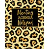 Meeting Agenda Notepad: 8 x 10 inches, 50 pages