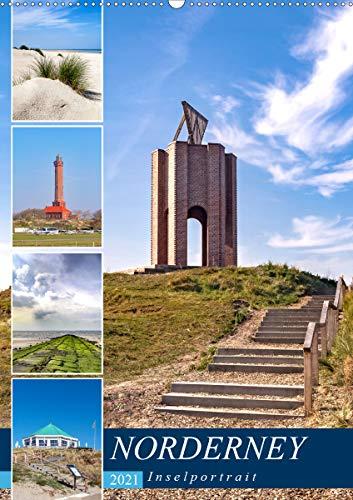 Norderney Inselportrait (Wandkalender 2021 DIN A2 hoch)