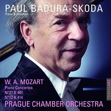 Mozart : Concertos pour piano N° 21 KV 467 et 12 KV 414 - Piano concertos No. 21 K. 467 and 12 K. 414