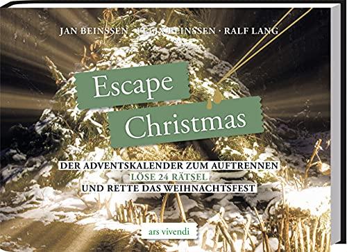 Escape Christmas: Der Adventskalender zum Auftrennen - Löse 24 Rätsel und rette das Weihnachtsfest