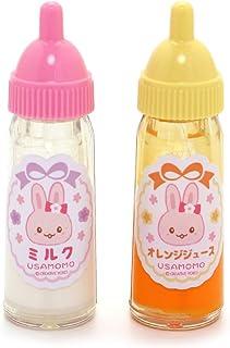 マザーガーデン Mother garden うさももドール お人形用 ほ乳瓶 2個セット ベビー お世話 パーツ 682-57291