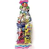 Surtido de Golosinas y Dulces. Payaso. Fiestas de Cumpleaños y Celebraciones Infantiles Especiales. Pack con 15 bolsas individuales.