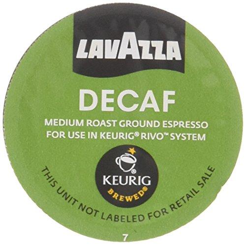 Lavazza Espresso Decaf Keurig Rivo Pack, 36 Count