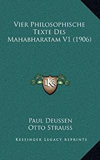 Vier Philosophische Texte Des Mahabharatam V1 (1906)