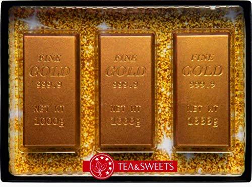 Goldbarren aus Schokolade