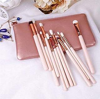 Z-O-E-V-A 12pcs Makeup Brushes Professional Rose Golden