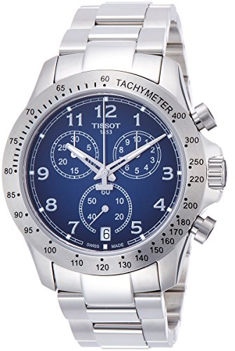 Tissot Herren-Uhren Analog Quarz One Size Edelstahl 86963272