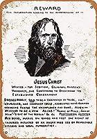イエス・キリストが望んだ 金属板ブリキ看板警告サイン注意サイン表示パネル情報サイン金属安全サイン