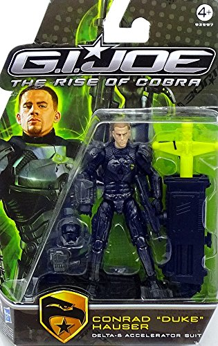 G.I. Joe Movie The Rise of Cobra 3 3/4 Inch Action Figure Duke (Delta-6 Accelerator Suit)