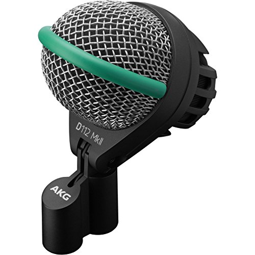 AKG D112 MkII Professional Dynamic Bass Drum Microphone with 1 Year Free Extended Warranty