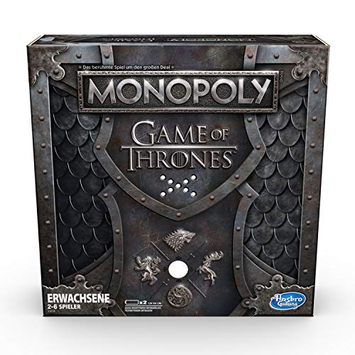 Hasbro Gaming E3278100 Monopoly Game of Thrones (deutsche Version), Brettspiel