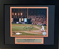 Cal Ripken Jr Autographed Baltimore Orioles 2131 Consecutive Game Streak Signed Baseball 8x10 Framed Photo JSA COA