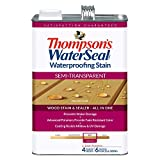 THOMPSONS WATERSEAL TH.042811-16 Semi-Transparent Waterproofing Stain, Harvest Gold