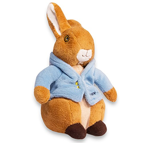 "KIDS PREFERRED Peter Rabbit 8"" Plush Bunny Bean Bag"